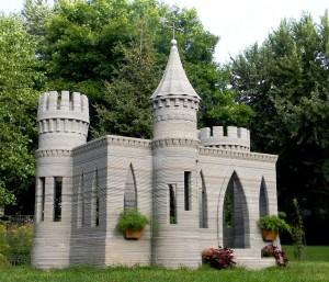 3D-gedrucktes Spielschloss